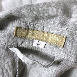 Pip-Squeak Chapeau Jackets & Coats - Pip-Squeak Chapeau L 100% Linen Duster Long Jacket